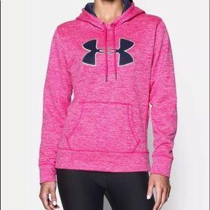 Underarmour Pink & Navy hoodie